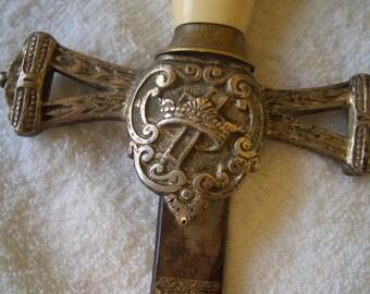 Antique Knight's Templar - Masonic Ceremonial Sword