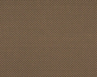 Brown Two Toned Dots Upholstery Fabric By The Yard   Pattern # A160