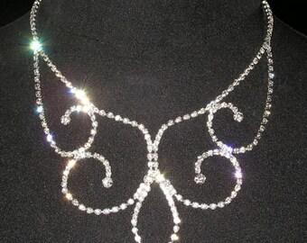 Style # 14098 Inverse Fleur de Lis Necklace