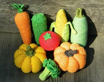 Baby|gift|for|children gift|hostess|gift crochet vegetables 8Pcs toys|for|kids room decor kitchen|decor living room decor baby shower favors