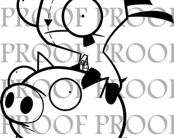 GIR and Piggy SVG