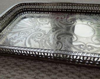Falstaff Silver-plated Tray