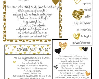 February 2017 Visiting Teaching Message Handout - Digital Printable