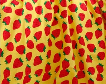 Cotton Fabric Strawberry By The Yard