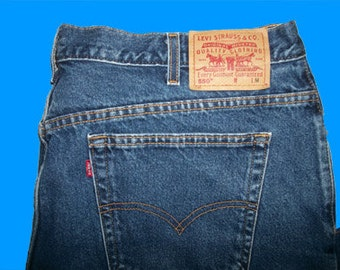 Levis 550 Relaxed  12 Petite M
