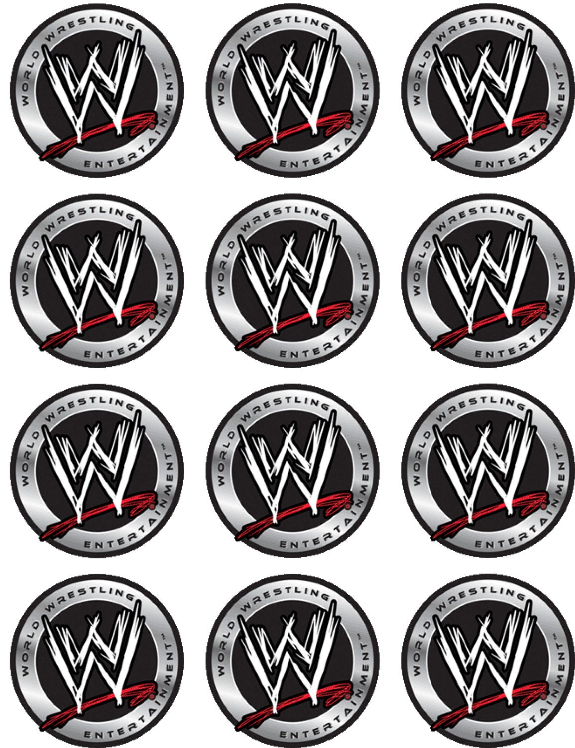 Wwe Cake Toppers Canada