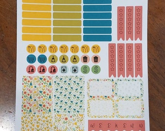 Weekly Sticker Kits