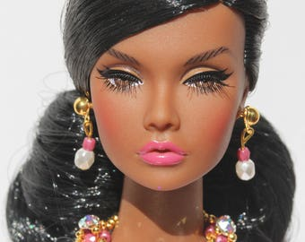 doll jewelry set for Fashion Royalty, Poppy Parker, Barbie