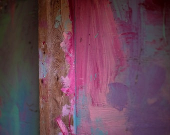 Color Splattered Wall Photograph | Pack of Notecards or Postcards
