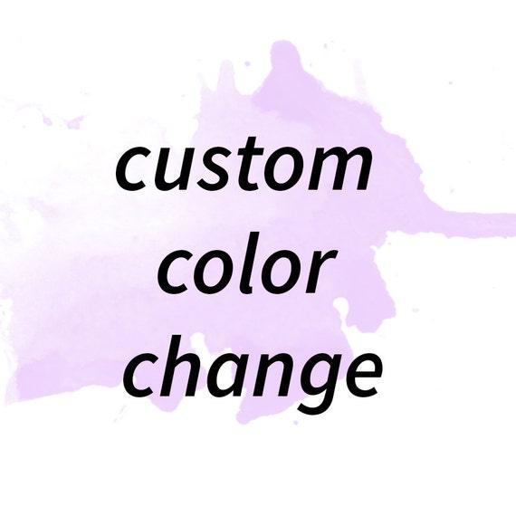 Custom Color/design/Font Change