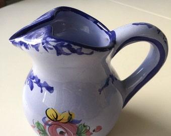 Blue, Classic Alcobaça, Made in Portugal, Creamer/Pitcher.