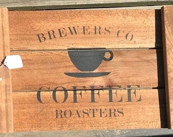 Serving Tray-Brewers Coffee Roasters