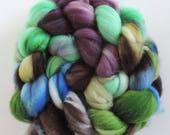 Merino Nylon,Willow and Hazel, superwash Sock Blend, handbemalte Fasern zum Spinnen,100g Kammzug