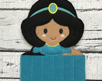 Arabian Princess Crayon Holder * Party Favor * Birthday Gift * Girl Gift