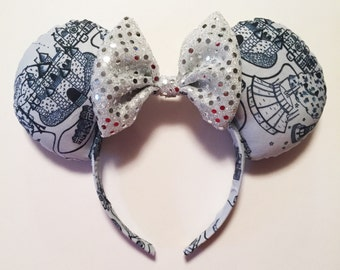 Disneyland Sketch Mouse Ears