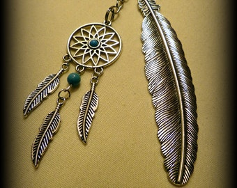 NEW! Feather Dreamcatcher Bookmark - Free Shipping!
