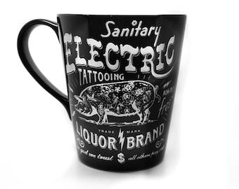 Electric Pig mug