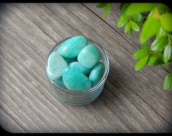 Tumbled Amazonite from Russia