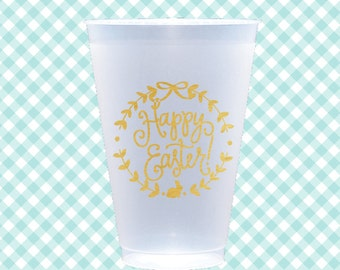 EASTER Cups + Napkins