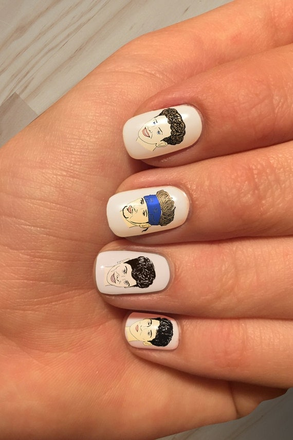 Nkotb only cue the screams handpainted new kids on the for 3d nail art salon new jersey