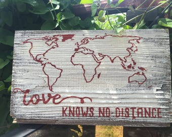 Love Knows No Distance (Map)
