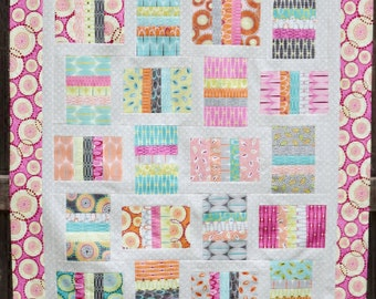 Ingrid For You Quilt Kit featuring Zen Chic Fabrics