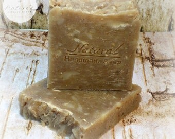 Goat Milk Soap- All Natural Soap - Oatmeal Milk & Honey Soap- Handmade Soap-Handcrafted Soap