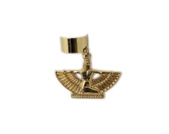 Slide-on Ear Cuff - Egyptian Isis