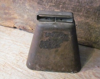 Vintage Hand-Forged Authentic Rusty Cowbell