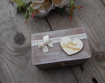 Box Flowergirl-gift flowergirl, wedding, wedding decoration, wedding accessoires, wedding present