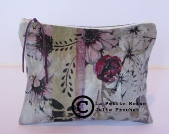 case, toilet bag Flowers