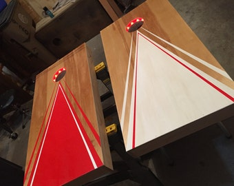 Cornhole or Bean Bag Toss Game Board
