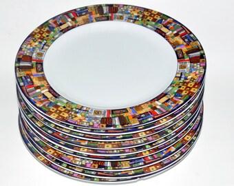 Farberware Bread Plates. Park Avenue 221. Retroneu. Small Farberware Plates. Farberware Salad Plates. Park Avenue Pattern.