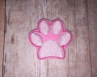 Set of 4 Puppy Dog Animal Paw Pawprint Planner Glitter Feltie Felt Embellishment Bow! Felties Birthday Party Decoration Oversized