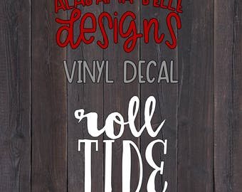Roll Tide- Car Decal