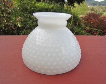 "Vintage Milk Glass White Floor LAMP SHADE 8"""