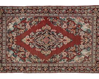 Vintage Persian Mahal Rug - 4' x 6'6