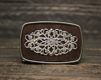 Fancy Filigree Belt Buckle (Kona)