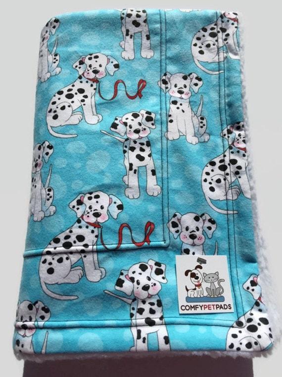 Dalmatian Blanket Blue Baby Blanket Stroller Cover By