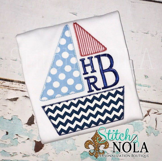 Sailboat Bubble, Romper, Tee