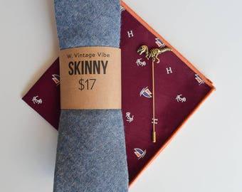 Denim cotton Men's Tie