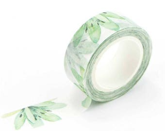 Washi tape, tropical
