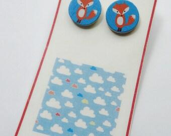 little fox - wood studs