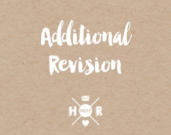 Additional Revision