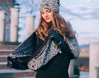 Zebra tube scarf