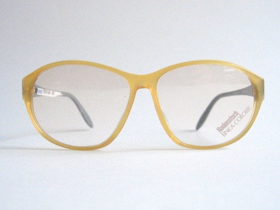 Eyeglasses Frame Made In Germany : Rodenstock vintage plastic eyeglasses frame. Made in Germany