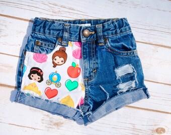 Princess Emoji Shorties