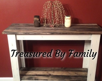 Solid Wood Hall Table-Sofa Table-Entry Table-Library Table-Buffet Table
