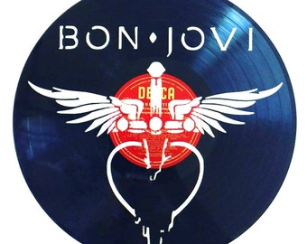 Bon Jovi - Vinyl Record Art