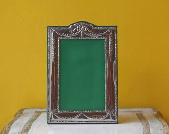 Pewter Photo Frame, Picture Frame, Metallic Frame for Portrait Photo - No. 97_P_Gn